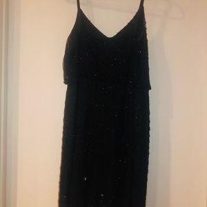 Adriana Pappell black dress